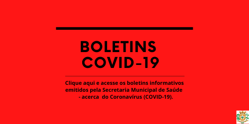 Boletim - Covid 19