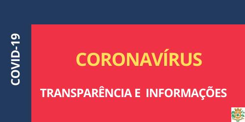 INFORMAÇÕES - COVID-19